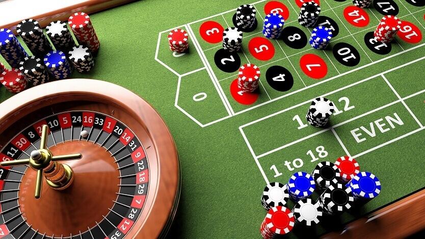 mesa de ruleta en vivo con apuestas de dinero real