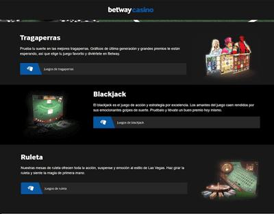 betway-juegos